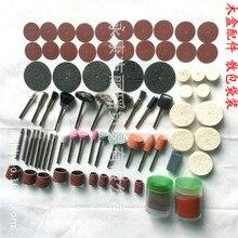 """Fixmee 100pc conjunto de bits acessório ferramenta rotativa terno dremel 1/8 """"(3.175mm) shank moagem polimento para máquina giratória"""