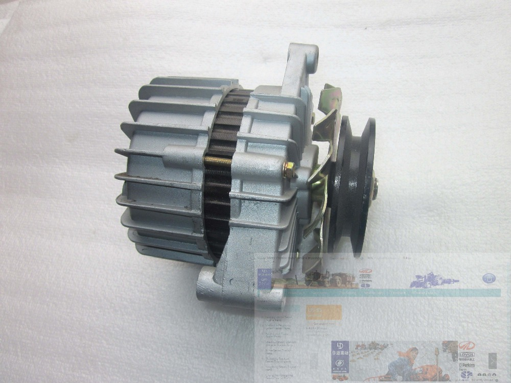 Yangdong Y380T,Y385T the alternator, 12V for tractor like JINMA JM254 jiangdong ty395e jd495 engine for tractor like jinma the water pump two inlet pipes