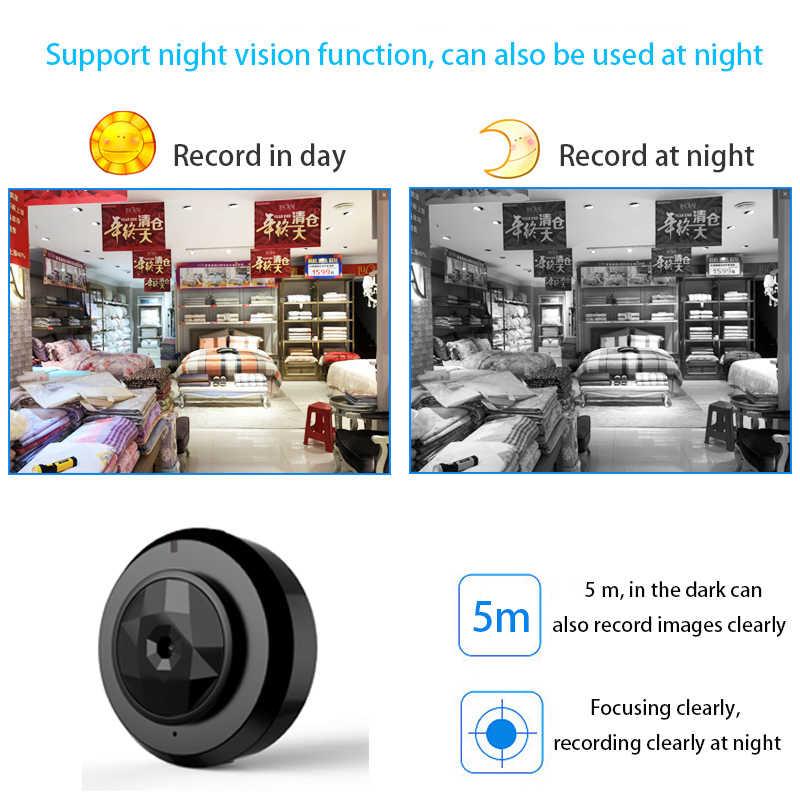 Мини камера wi fi 1080 p IP Открытый ночное видение Android беспроводной небольшой автомобиль видеокамера с обнаружением движения HD Спорт портативный