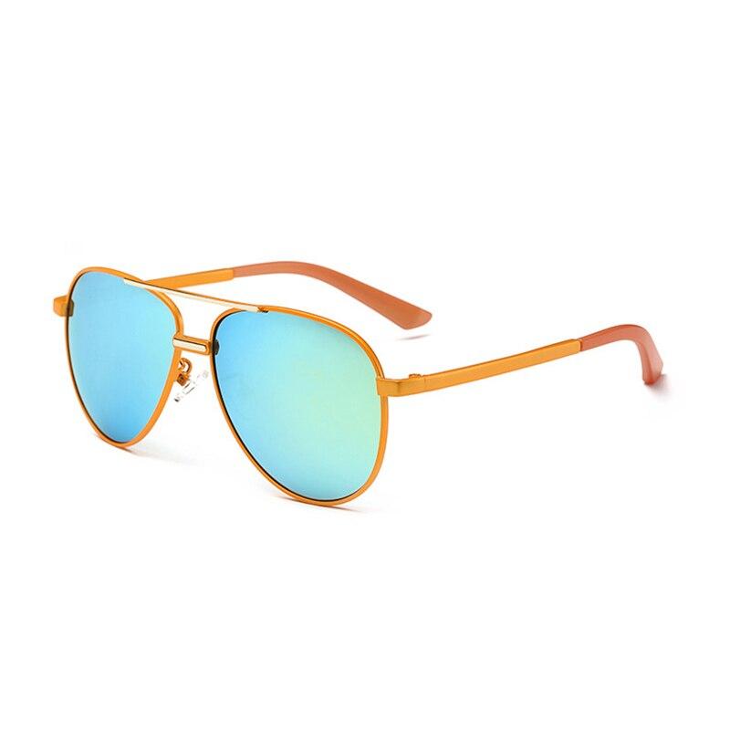 LAOKE  Aviator Pilot Sunglasses Kids UV400 Coating Sun Glasses Camouflage Frame Goggle Girls  WD546 pink aviator sunglasses women brand designer uv400 shades golden ladies eyewear female metal frame pilot sun glasses for men new