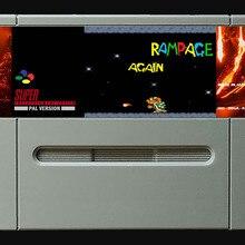 16 бит игры* RAMPAGE снова(PAL Европейская версия