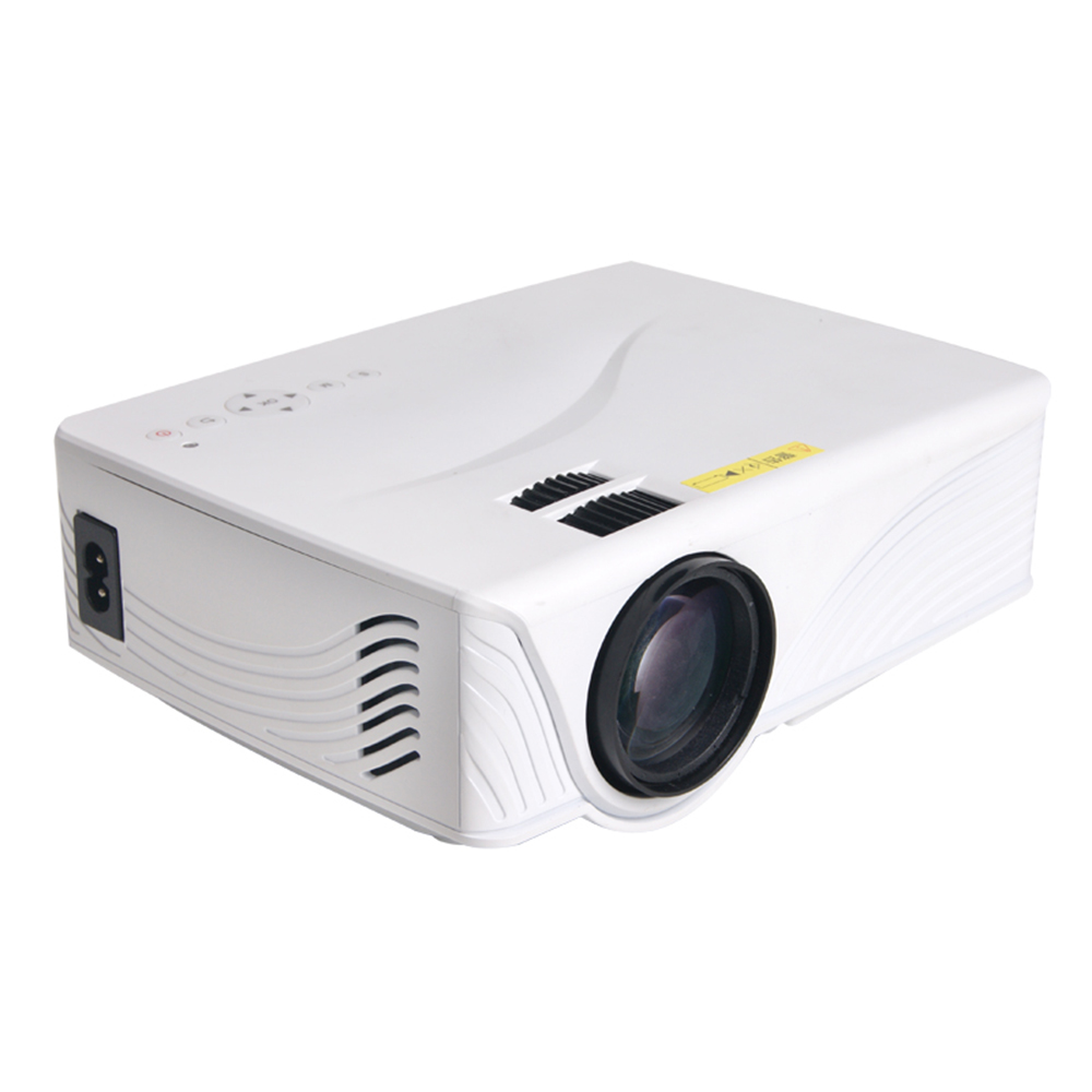 GP10 800 lumens Portable Mini Projector Home Theater LED&LCD Proyector 800*480 With HDMI/USB/SD/AV gp802a mini portable led projector 200 lumens 480 320 pixels contrast ratio 600 1 with hdmi vga usb av tv sd port home theater