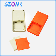 3 AA battery (10pcs/lot) handheld electrical plastic box instrument case abs plastic electronics enclosure 135*70*25mm