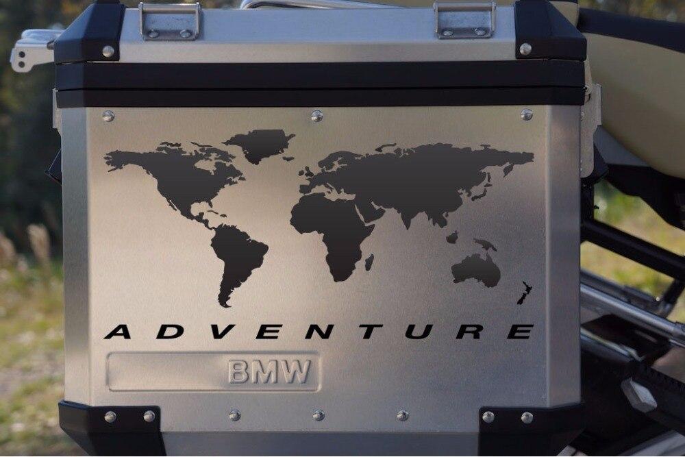 Мотоцикл Наклейка Мир Приключений для touratech Паньер