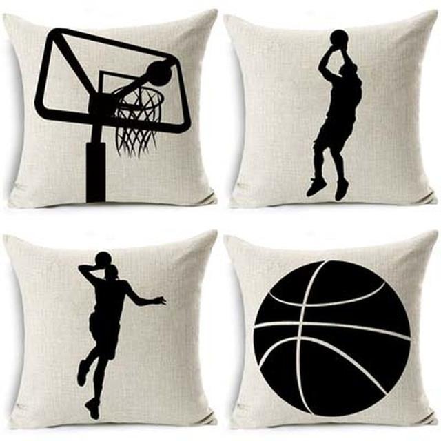 Shadow Basketball Cushion Cover 4