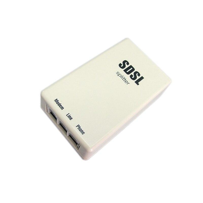 Conector anti-interferência rj11 da proteção do relâmpago da redução de ruído do filtro do divisor da banda larga do telefone de hq para o modem adsl de sdsl