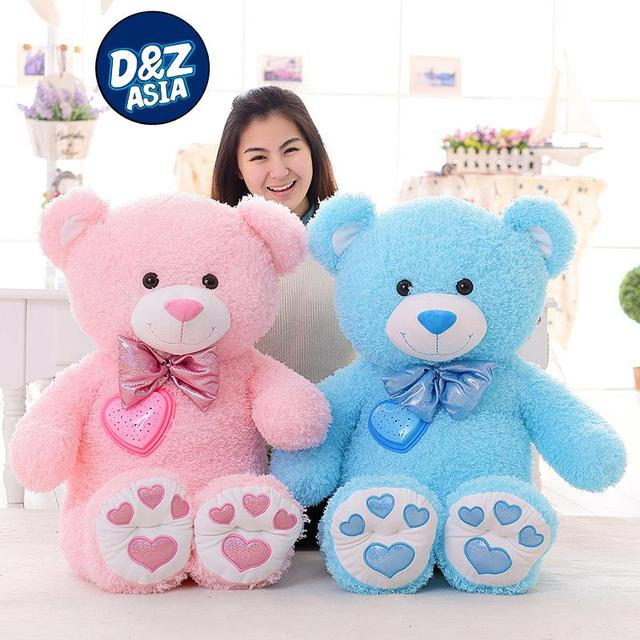 Красочное свечение плюшевых медведей, плюшевые игрушки, творческие подарки на день рождения