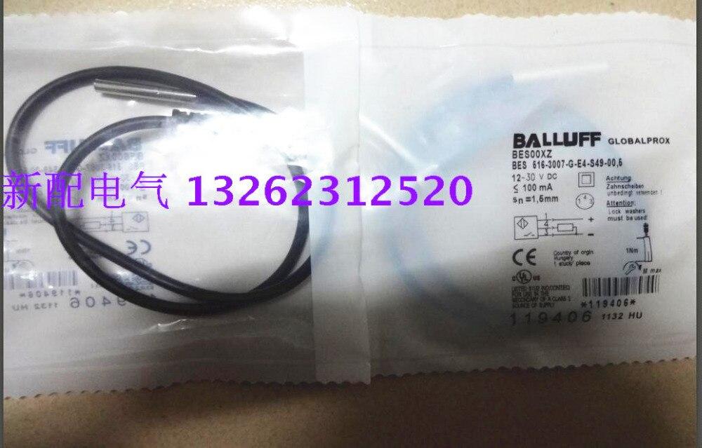 Новый высококачественный датчик приближения BES 516-3007-G-E4-S49-00,6 Balluff
