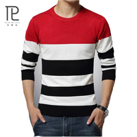 Winter Sweater Men Pullover Mens O Neck Knit Warm Pullover Sweater vest Pull homme jersey Plus size 5XL Male Polo Sweater#D3