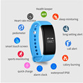 V66 Bluetooth Smartband Sleep Heart Rate Monitor IP68 Waterproof Smart Wristband Bracelet for iPhone 5s 6 6s 7 for Android Phone