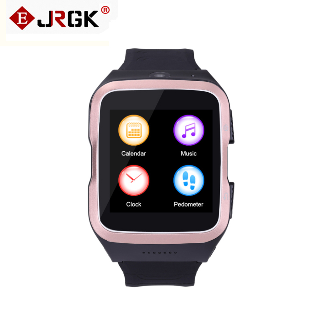 ФОТО ZGPAX S83 Bluetooth Smartwatch Quad-Core Android 5.1 Smart Watch Phone With GPS WiFi WCDM 5.0MP Camera Sleep Monitor