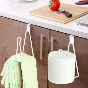 Image 4 - New listing High Quality Kitchen Storage Rack Cupboard Hanging Hook Hanger Chest Storage Organizer Holder Safe for kids