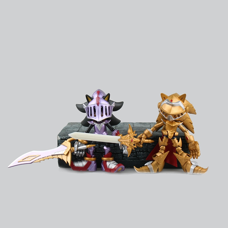 2 Style Sonic the Hedgehog Toy Sonic and the Black Knight Excalibur Sonic Sir Lancelot with Shadows Sword PVC Figure Toy sir lancelot where are you 6
