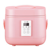 Mini Multi Rice Cooker 3L 220V Reservation Timing Household Reservation Automatic Small Intelligent Electric Rice Maker Machine