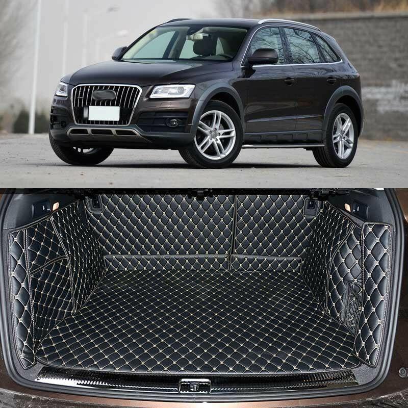 Full Covered Seat Pad Cargo Box Trunk Floor Mat Carpet Liner For Audi Q5