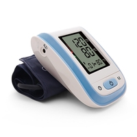STRIKATE Portable Upper Arm Blood Pressure Monitor Digit Smart LCD Full Automatic Wrist Arm Talking Body Blood Pressure Monitor