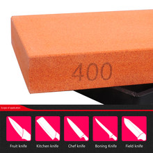 1PCS 2018 New arrival 400# Whetstone Knife Sharpener Sharpening For A Knife Stone KitchenTools Oilstone Honing Bblade(China)