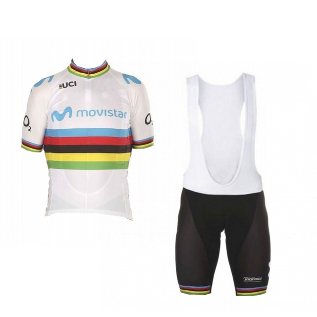 2018 new UCI world champion Alejandro Valverde cycling jersey kits  breathable racing bike cloth Ropa Ciclismo dda830056