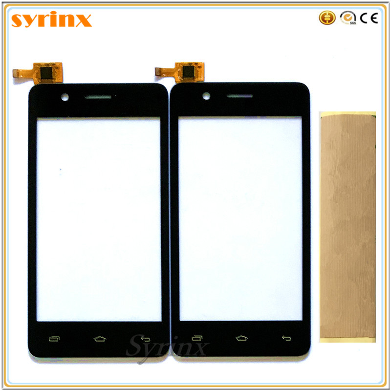 Syrinx With Tape Mobile Phone Touch Sensor Panel For Micromax Bolt Q326 Touch Screen Digitizer Front Glass Lens Touchscreen