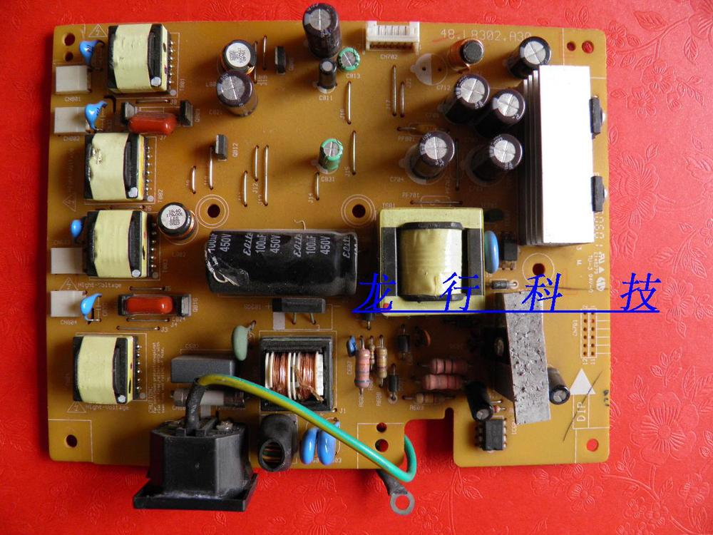Free Shipping>Original  FP71G power board FP71G + pressure plate 48.L8302.A30 48.L1C02.A13-Original 100% Tested Working lussole bellaria lsc 8807 03