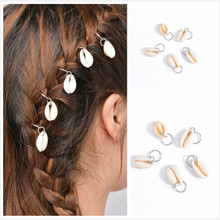 1set /new Fashion Kids Girls Silver/golden Hairpin Compiled Hair Accessories Circle Hoop Jewelry Gift Wedding Hair Accessories(China)