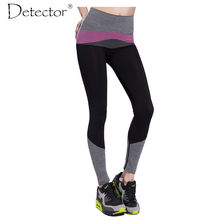 Detector Women Pants High Elastic Quick Dry Fitness Pants  Fitness Women Running Pants Sports leggings