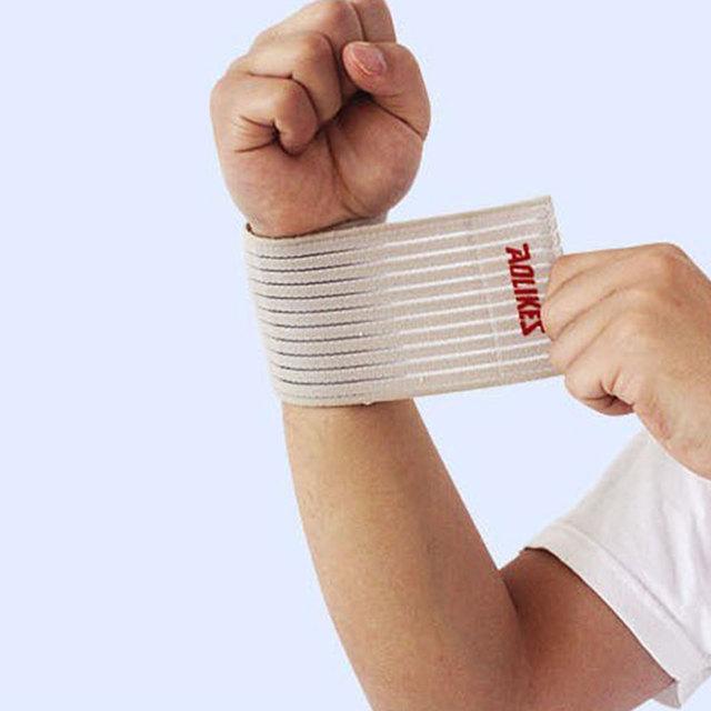 Elastic Cotton Gym Wristband