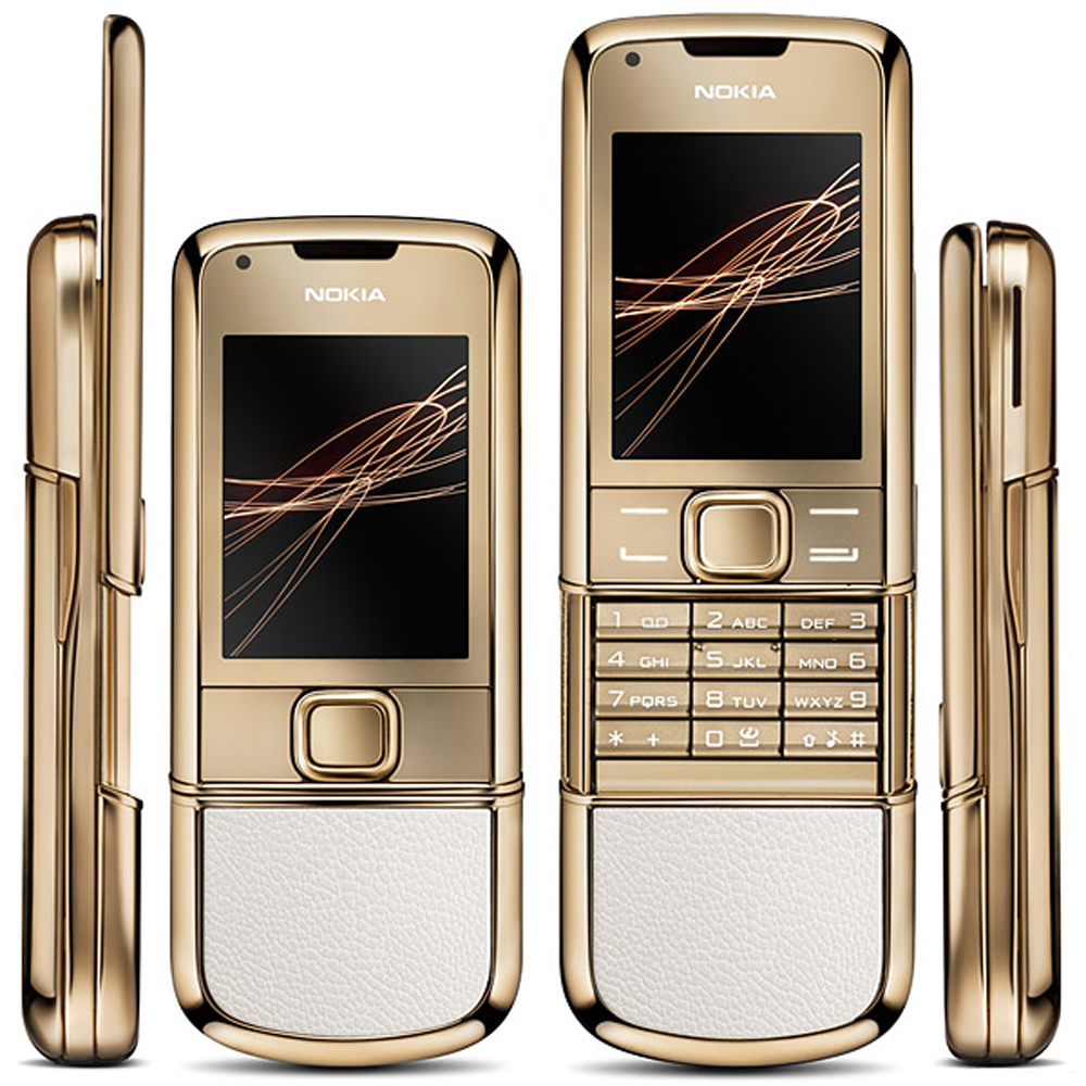 Refurbished Original NOKIA 8800 Gold Arte 4GB ROM 8800GA 4GB Version Mobile Phone GSM Unlocked Russian
