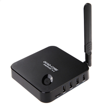 Media Streamer Quad Core RK3128 TV Android 4.4 WIFI XBMC KODI Full HD Media Player 1080 P WIFI Smart TV Box Fully Loaded