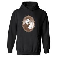 TESLA Brand Clothing Hooded Mens XXXL Black Hoodie Streetwear Tesla Hoodies Man Hip Hop Sweatshirts