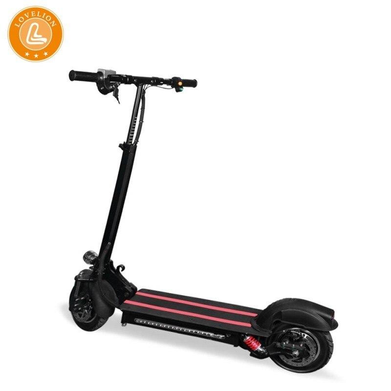 LOVELION 10 pouces hors route vélo électrique Scooter adulte 48 v 1200 w puissant nouveau e-bike pliable