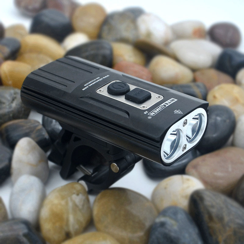 2017 New Bicycle Front bike light USB rechargeable 2* XM-L2 LED Waterproof Bicycle light bike Accessories RUNNING 72 HOURS decaker 2256 bicycle front light page 2