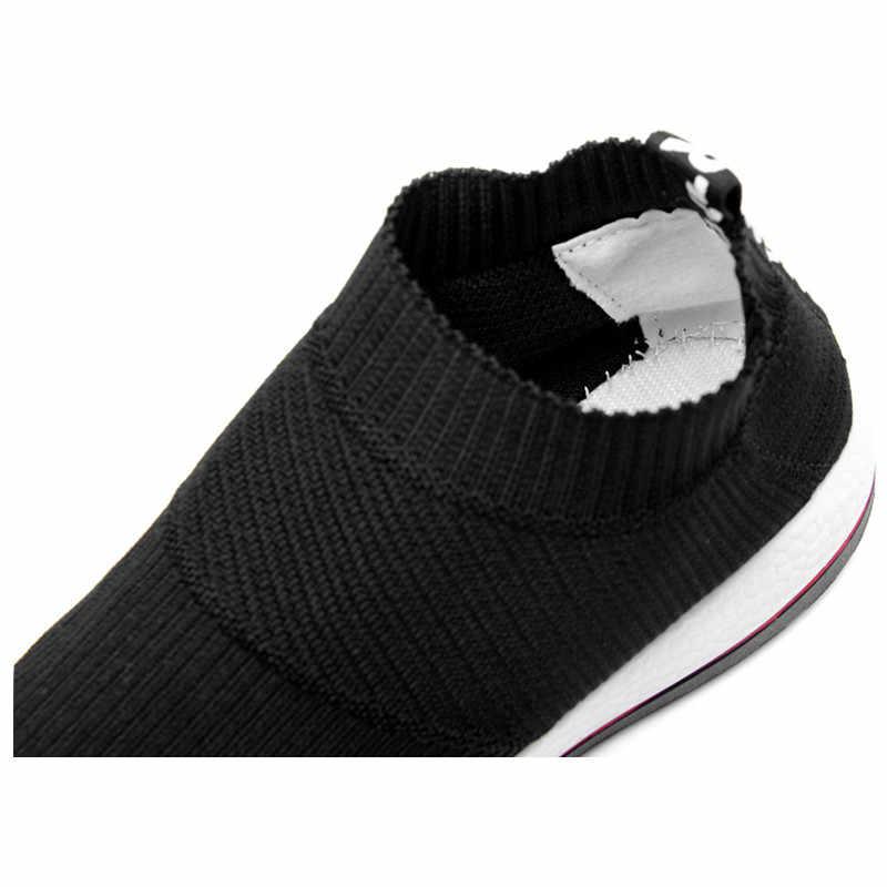 Superestrella venta primavera y verano malla hombres zapatos mocasines 2020 transpirable marca Casual al aire libre moda caliente adultos hombres zapatillas