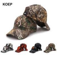 e0c95e41c690b KOEP 2019 New Camo Baseball Cap Fishing Caps Men Outdoor Hunting Camouflage  Jungle Hat Airsoft Tactical