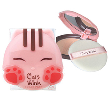 Cats Wink Clear Pact 2 color Face Makeup Concealer