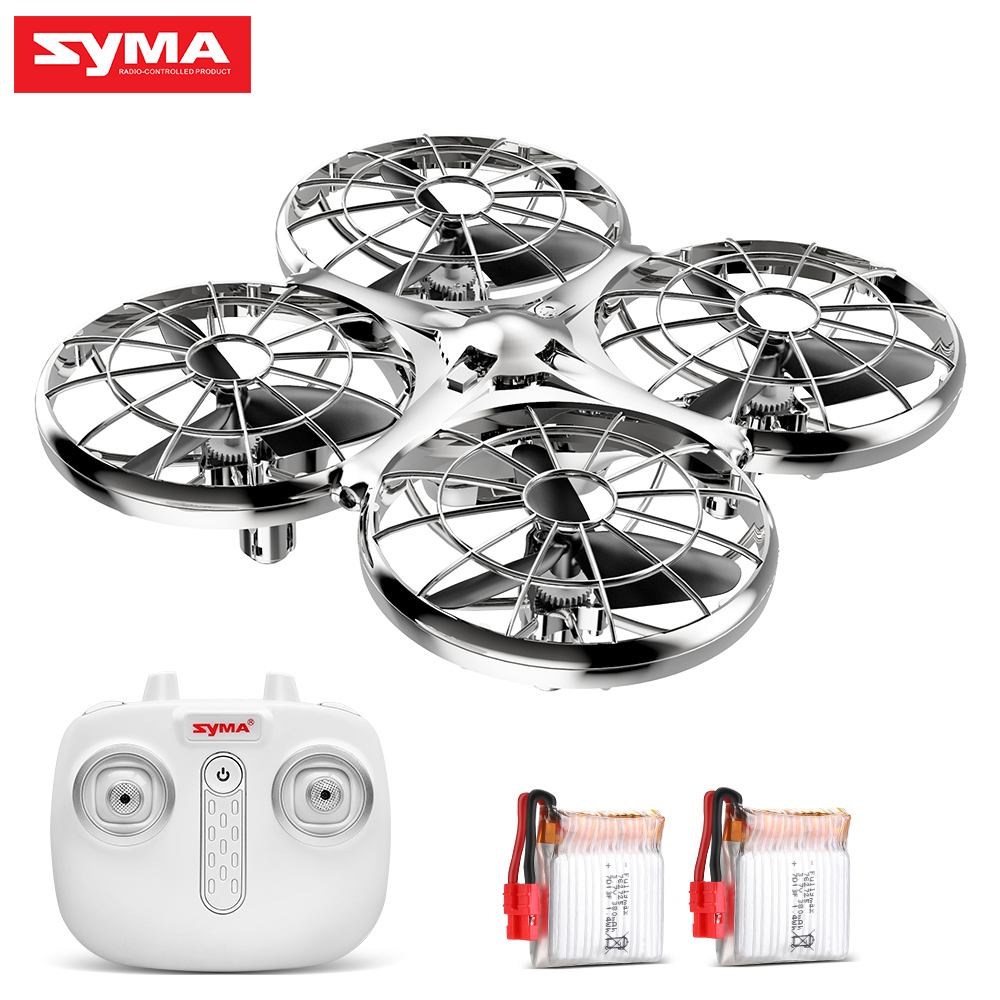 SYMA RC Drone X100 Hand Operate Obstacle Avoidance 4CH Headless Mode Remote Control Drones Quadcopter Helicopter Toys Gift