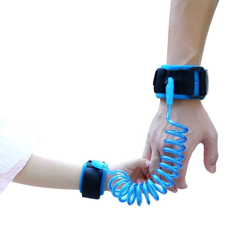 Bambini Cinture Di Sicurezza Bambino Polso regolabile Guinzaglio Anti-lost Link Bambini Nastro Scorrevole Assistant Girello Wristband 1.5 M/2.5 M