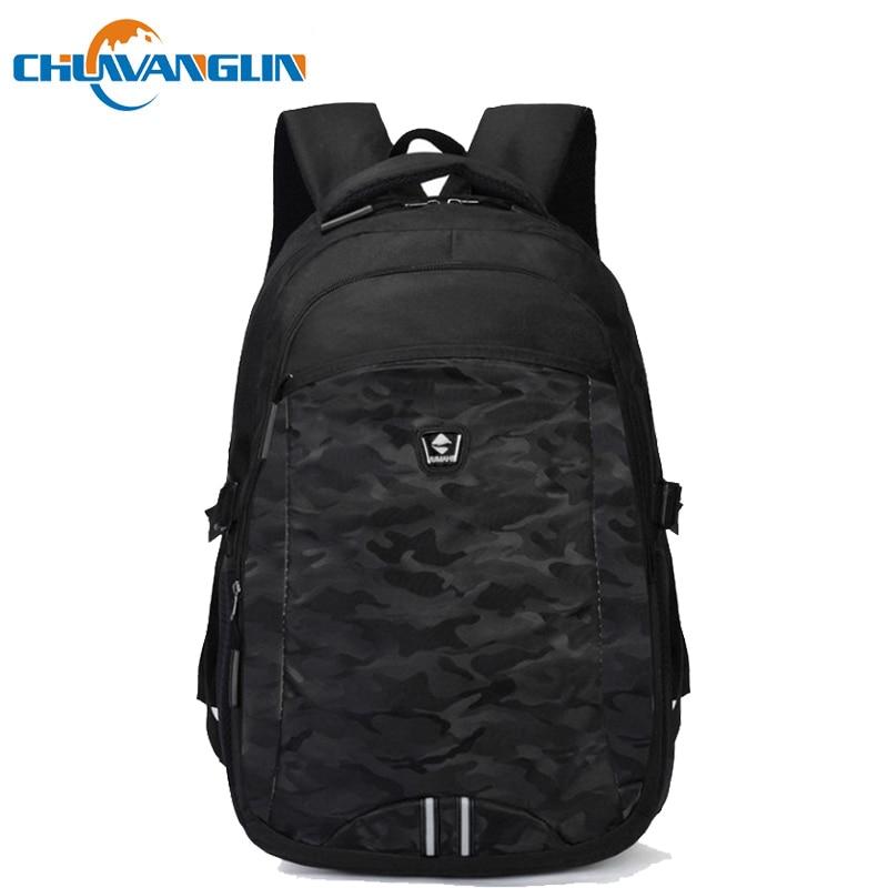 Chuwanglin Unisex School Bag Waterproof Nylon Brand New Schoolbag Business Men Women Backpack Bag Computer bag A7770