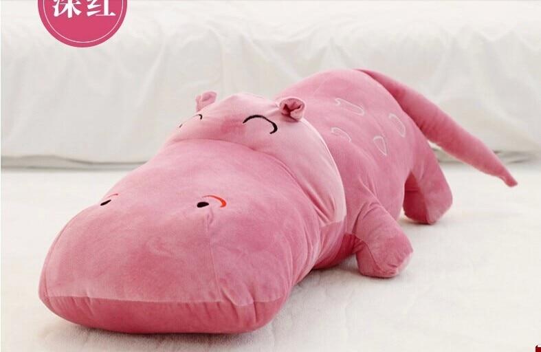 Stuffed animal 120 cm fuchsia hippo plush toy soft doll throw pillow gift w2253 the last airbender resource appa avatar stuffed plush doll toy x mas gift 50cm