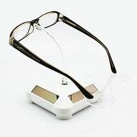 Solare occhiali da sole display gioielli ornamenti di diamante dei capelli del cerchio vassoio disco rotante contatore