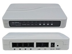 Free Post Shipping! VoIP ATA FXS gateway 4FXS ports to PBX Trunk Asterisk IP PBX HT842T VoIP Analog Terminal Adapter FXS gateway