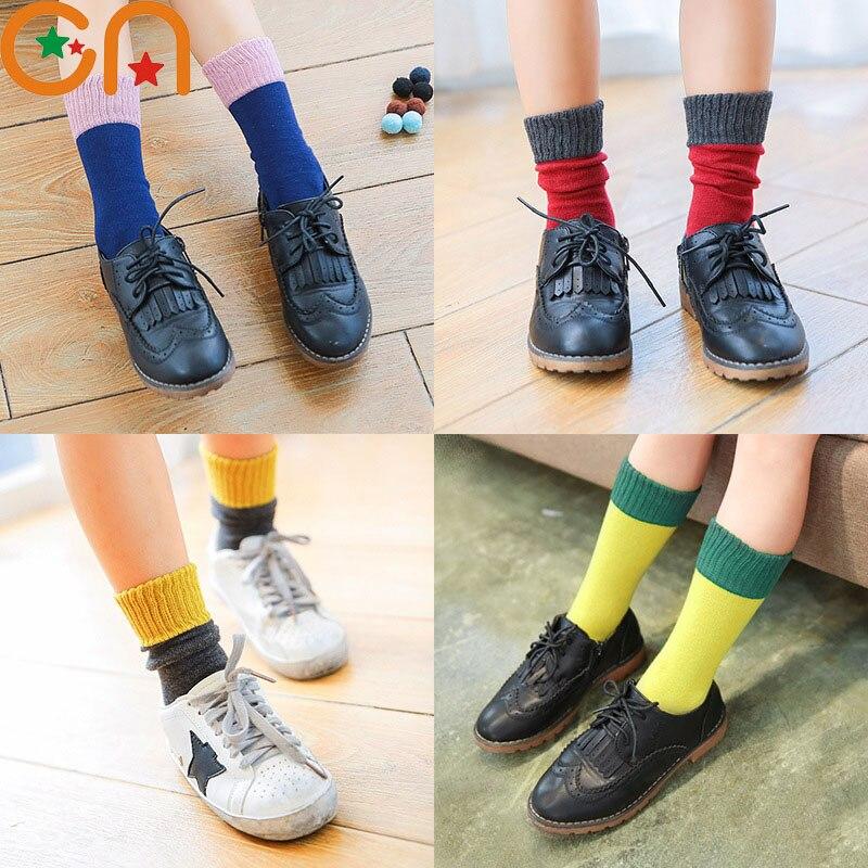 Børne sokker Boy Girl bomuld mode Sports sokker baby toddler Høj knæ sokker nytår kids gaver til 0-10T gratis forsendelse CN