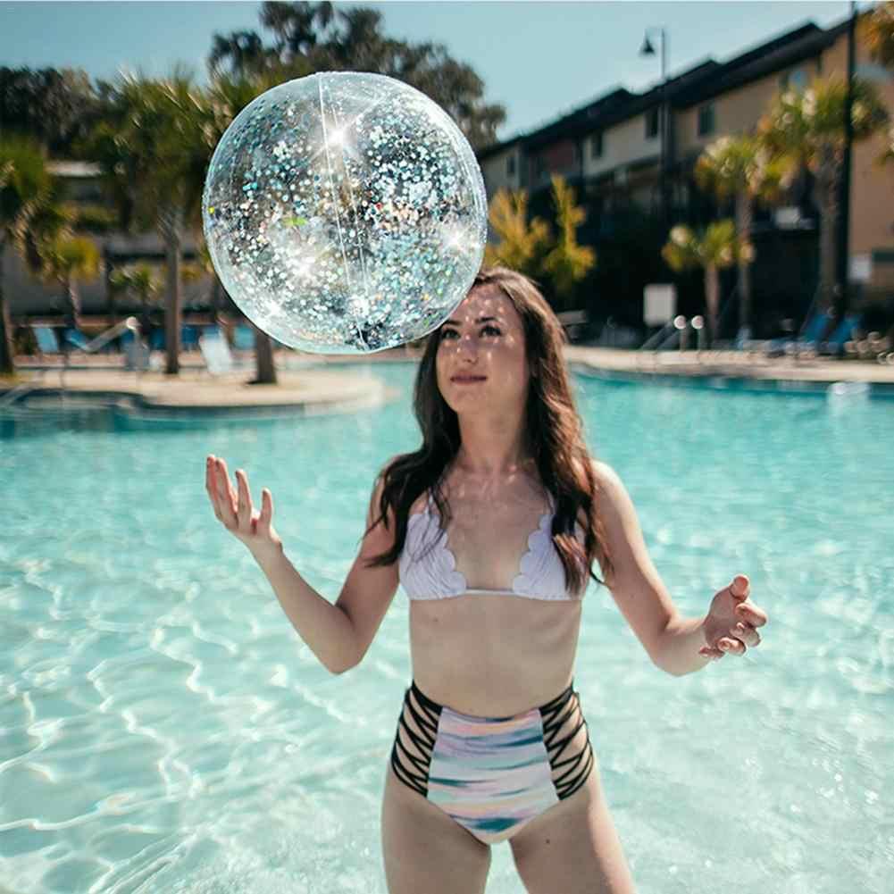 Новые детские забавные игрушки надувные шары с блестками Piscine Hors плавательный бассейн с игровой корзиной вечерние водные игры пляжные спортивные мячи детские игрушки
