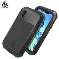 For IPhone X Case Cover Metal Aluminum Phone Armor Shockproof For Apple IPhone X