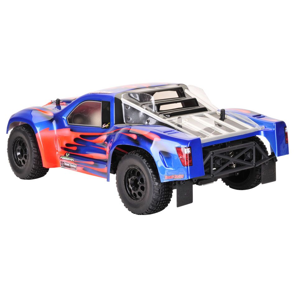 New 1/10 On Road Rc Car Short Course Car Shell Body HPIWR8 PVC Blue SCA10 Mouse 1set For Kyosho HPI ARRMA
