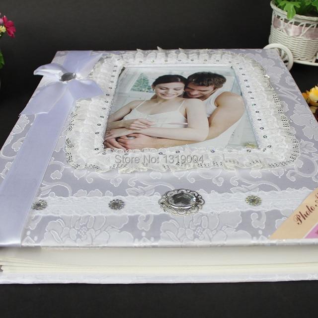 Wholeasalehigh Quality Wedding Veil White Photo Album For Wedding