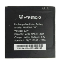 PAP5000 2200mah High Quality Replacement Li-ion Battery Battery for Prestigio MultiPhone Battery replacement 2200mah 3 7v li ion battery for leagoo lead1 green