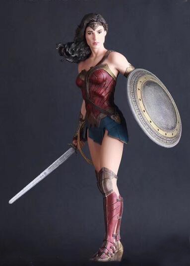 Wonder Woman 1/6th Scale PVC Collectible Figure Model Toy 12