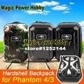 Upgraded Phantom 4 Hardshell Backpack Shoulder Bag Carrying Case Hard Shell Box Waterproof for DJI Phantom4 Phantom3