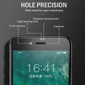 Image 3 - 9D מלא כיסוי מגן זכוכית עבור iPhone 6 6S 7 8 בתוספת X XR XS מקס זכוכית על iphone 7 8 6 X XR XS מקסימום מסך מגן רוח